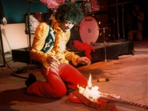Sorry, Jimi. California law doesn't entitle a musician to indemnity if he damages his own instrument.